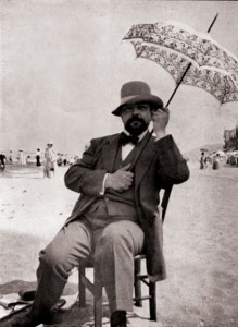Claude Debussy's idea of beachwear