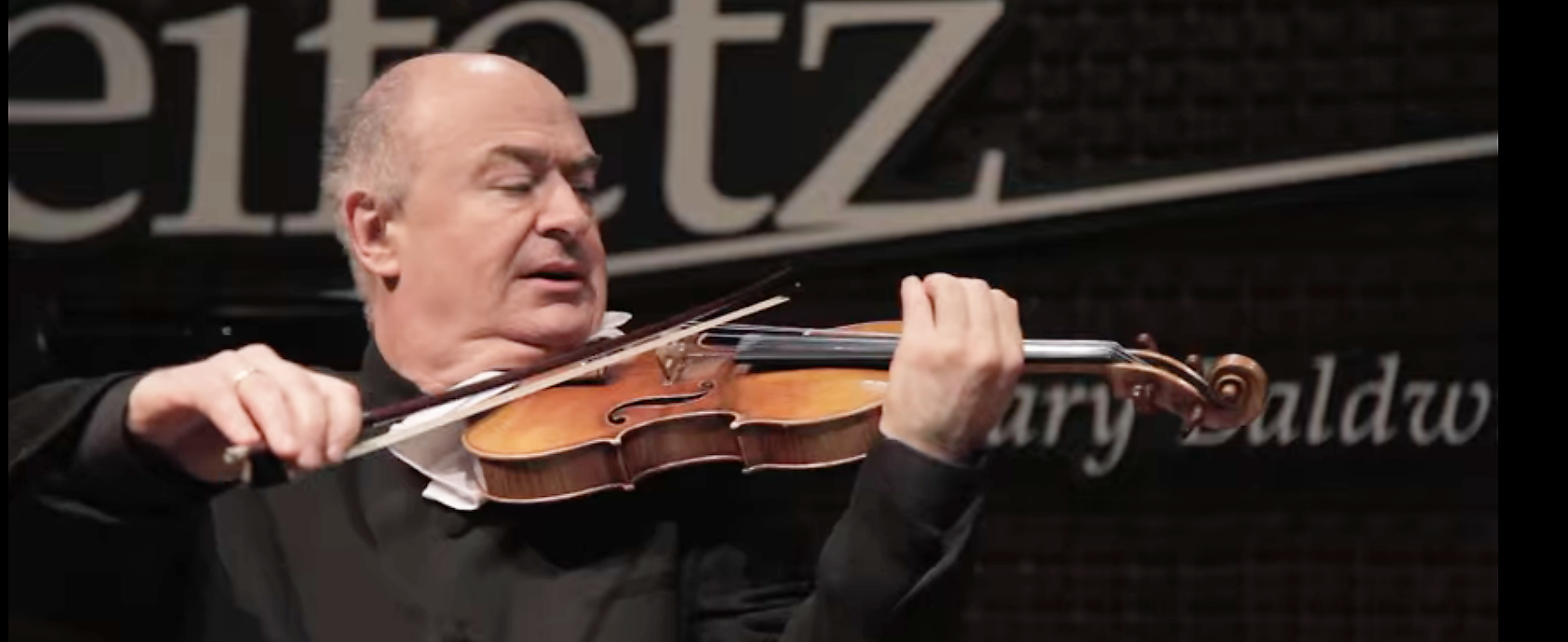 Ilya Kaler Violin Heifetz Institute